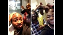 "Cultism: Davido and Burnaboy pictured hanging out with fellow ""Black Axe"" members 20748084 l 0a15387e94d335aadb4140864354ff2d"