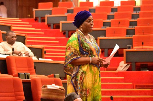 Female Senator, Biodun Olujimi Slapped By Male National Assembly Staff Cx9tybeWIAA8M3Z