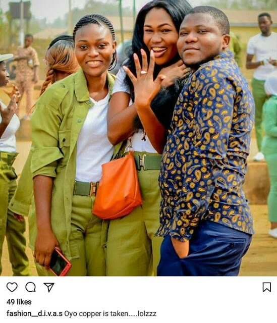 Man proposes to Corps member girlfriend two months after he slid into her DM (Photos) – Loudit News – img 20180128 124517 2851910436847