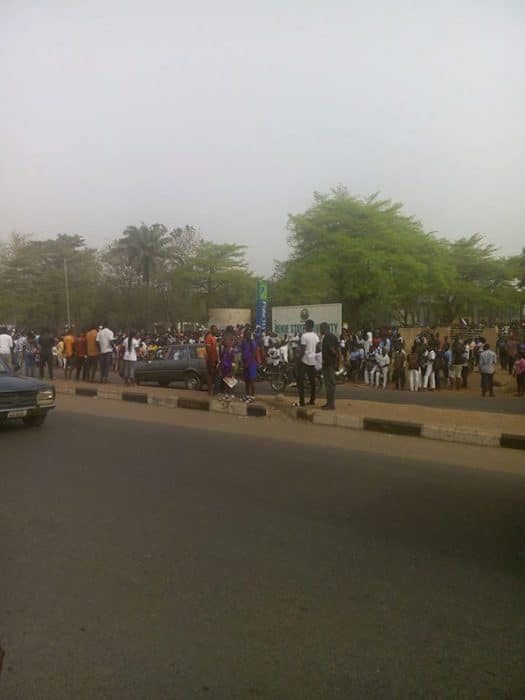 BENUE STATE UNIVERSITY SHUT DOWN AS STUDENTS CLAIM SNAKES ATE THEIR SCHOOL FEES (PHOTOS) BenueStateUniversityshutdownasstudentsclaimsnakesateuptheirschoolfees4 525x700