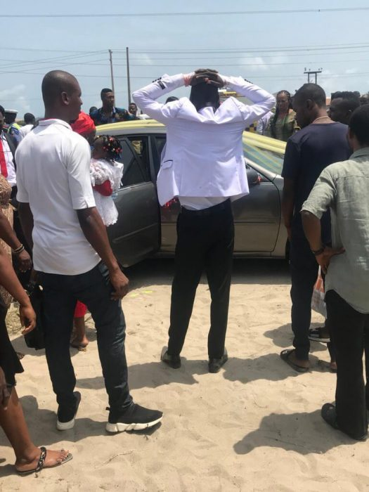 Groomsman Dies After Newly Wedded Couple's Car Tumbles Thrice In Lagos. (Photos) grooms 01 525x700