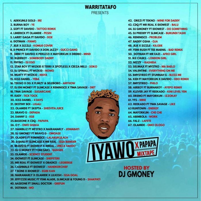 dj g-money warritatafo [Mixtape] DJ G-Money – Warritatafo February Mix [Iyawo X Papapa Mixtape] image 700x700