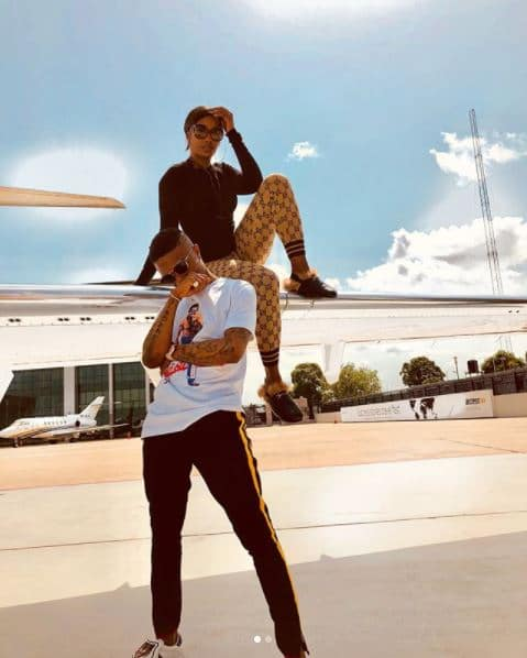 Nigerians superstars, Tiwa Savage and Wizkid have gotten tongues wagging after posing in a new set of photos. Tiwa and Wizzy 1