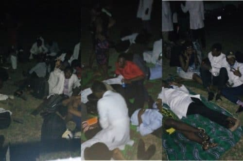 U.I Medical Students Sleep Outside The School After Being Evicted From Hostel (Photos) u i medical students sleep outside the school after being evicted from hostel photos 500x333