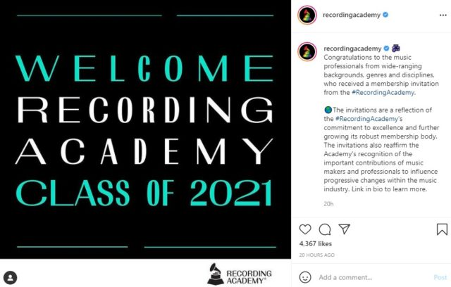Niniola Joins Grammy Recording Academy With the Class of 2021