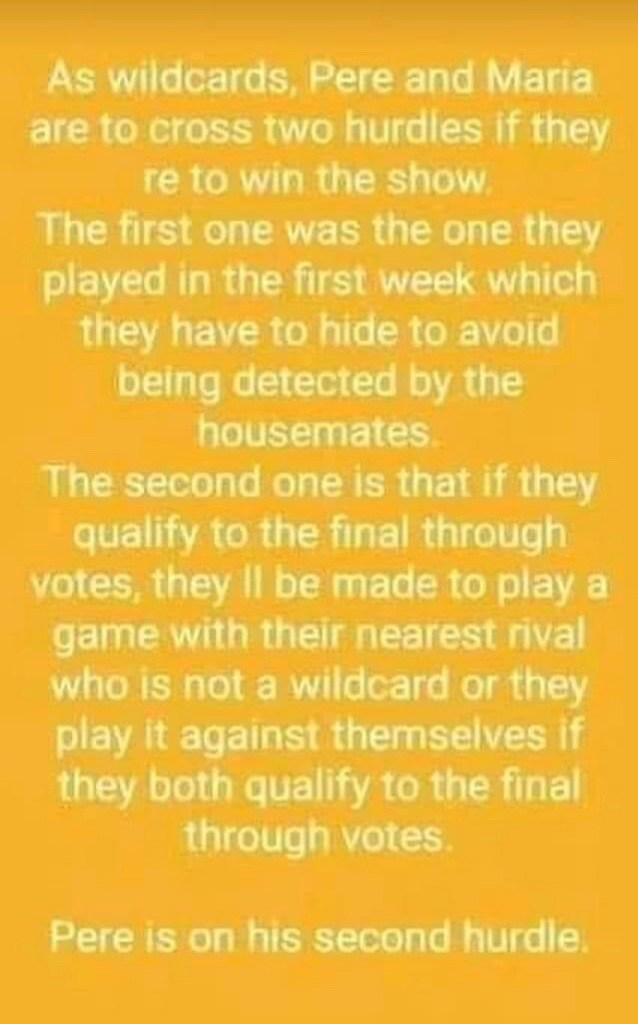 BBNaija: REAL Reason Why Pere Is Made To Play a Game to Ensure He Makes It to the Finals despite Having Higher Votes