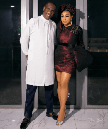 Nollywood actress Rita Dominic Steps out in Style with Lover, Fidelis Anosike [PHOTO]