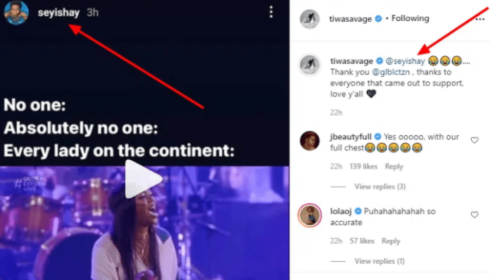Tiwa Savage and Seyi Shay: why They Are no longer 'Enemies' [Details]