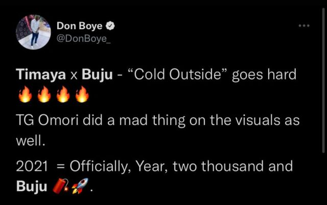 See Reactions to Timaya and Buju New Song Cold Outside NotjustOK